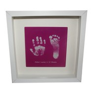Hand And Foot Print Glass Tiles