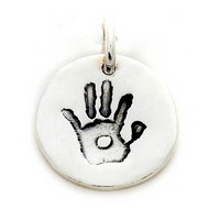 Hand Or Foot Print Charm