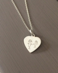 Childrens Artwork Necklace