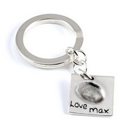 Large Fingerprint Keyring